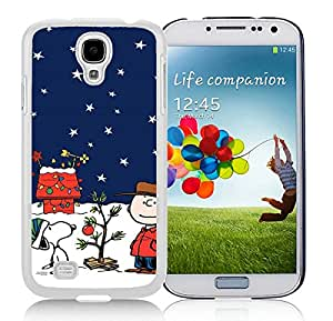 Popular And Unique Custom Designed Case For Samsung Galaxy S4 I9500 i337 M919 i545 r970 l720 With Snoopy Christmas 1 White Phone Case