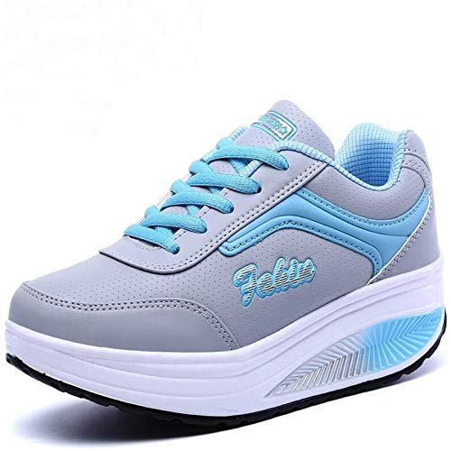 Amazon.com | Women Sneakers high 2019 Platform Womens Casual Shoes Ladies Basket Femme Wedges Trainers Zapatillas Deportivas Mujer | Fashion Sneakers