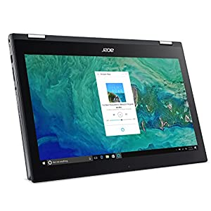 """Acer Spin 5 SP515-51GN-807G, 15.6"""" Full HD Touch, 8th Gen Intel Core i7-8550U, GeForce GTX 1050, Amazon Alexa Enabled, 8GB DDR4, 1TB HDD, Convertible, Steel Gray"""