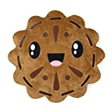 Scentco Cookies n' Cream Smillow Scented 15'' Plush Accent Kawaii Throw Pillow