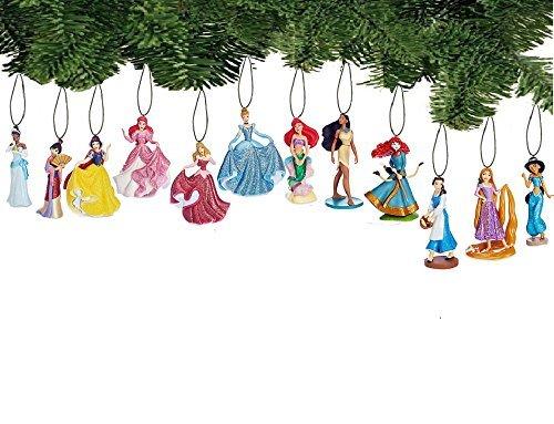 - Disney Princess Holiday Ornament Set of 12 Pc