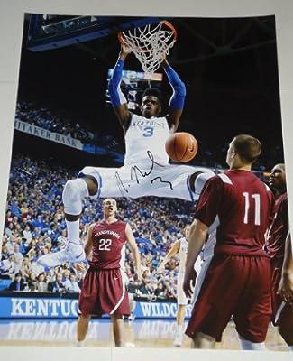 Nerlens Noel signed *Kentucky Wildcats* 11x14 PHOTO W/COA