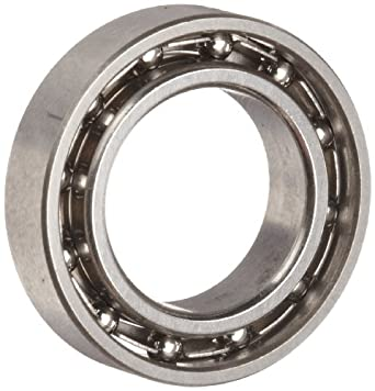 Dynaroll Extra Thin Section Ball Bearing, ABEC-3, Open, Stainless Steel