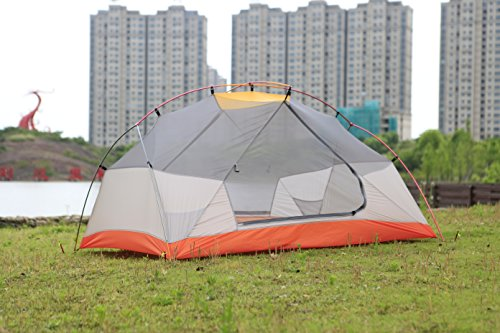 STAR HOME Camping Tent Lightweight Waterproof Backpacking Tents Hiking 2 Person Tents 3 Size by STAR HOME (Image #1)