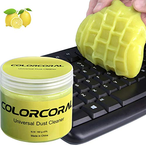 Keyboard Cleaner Universal Cleaning Gel for PC Tablet Laptop Keyboards, Car Vents, Cameras, Printers, Calculators from ColorCoral 160G (Container Homes That Don T Look Like Containers)