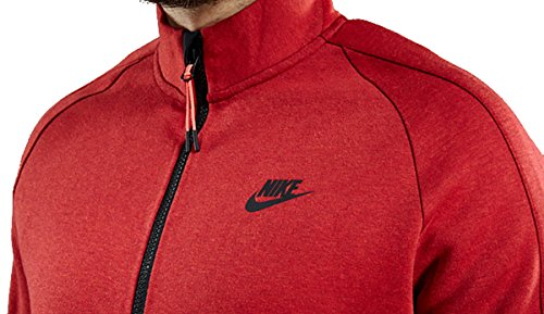 Nike Herren Tech Fleece Jacke Rode Heide Groot