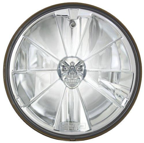 Adjure T70700-ASR 7″ Pie Cut Ice Skull Headlamp with H4 Bulb