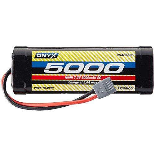 Onyx ONXP5506 NiMH 7.2V 5000mAh Battery Sub-C Stick Star Plug