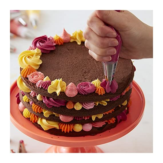 Wilton Decorator Preferred Buttercream Cake Decorating Set Creating Your Masterpiece Is As Easy