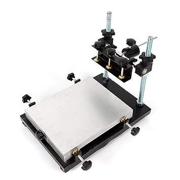 Impresora de pasta de soldadura manual, impresora de plantilla PCB ...