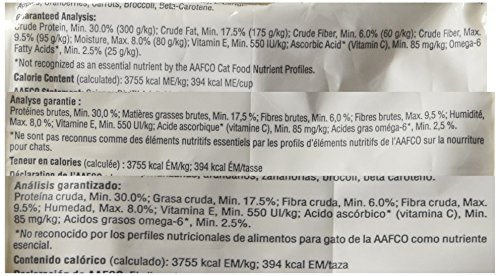Hill's Science Diet Senior Indoor Cat Food, Adult 11+ Age Defying Chicken Recipe Dry Cat Food, 3.5 lb Bag