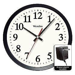 WALL CLOCK 14ELECTRIC by WESTCLOX MfrPartNo 32189A