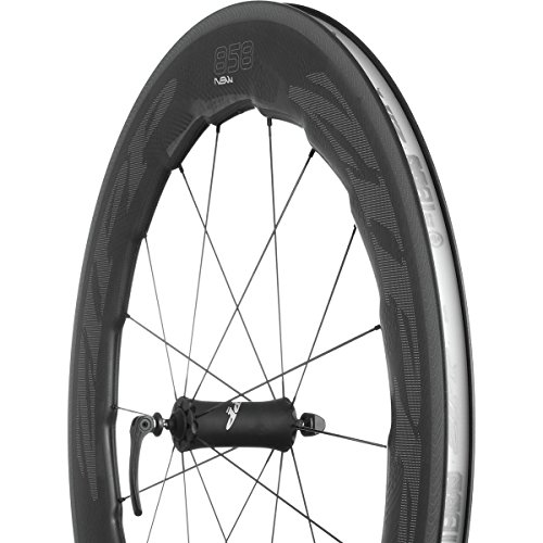 Wheel Zipp Front 808 (Zipp 858 Nsw Carbon Clincher Rim Brake 700c Front Quick Release A1: Black 700c)
