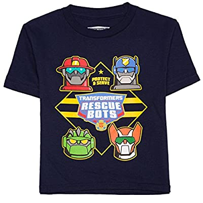 Transformers Rescue Bots Little Boys Toddler T Shirt