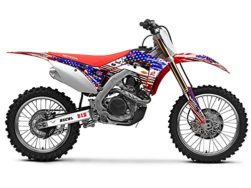 Senge Graphics 2013-2018 Honda CRF 110 Merica Graphics kit