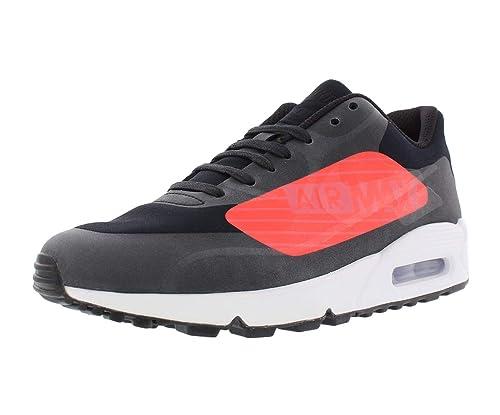 5dae6b5df588e Nike AIR MAX 90 NS GPX 'Big Logo' - AJ7182-003 Black, Bright Crimson ...