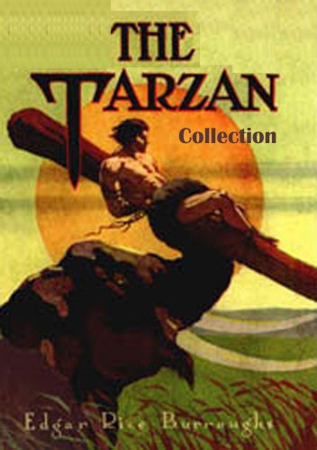The Tarzan Collection by Edgar Rice Burroughs (8 Books) (Collection Rice)