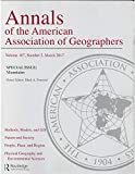 img - for Annals of the American Association of Geographers, Vol 107, Number 2 book / textbook / text book