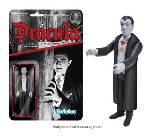 [Funko Universal Monsters Series 2 - Dracula ReAction Figure] (1980s Movie Character Costumes)