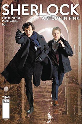 Sherlock A Study in Pink #2 (of 6) CVR B