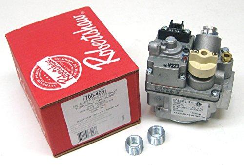 Robert Shaw Natural Gas Valve 24V 700-409 - 24v Gas Valve