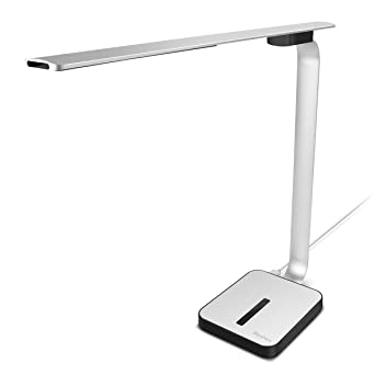 diy led desk lamp panpany alalloy body modern table lamp with usb charging port