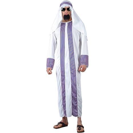Amazon.com: Árabe Sheik (Talla única) Fancy Dress (Culturas ...