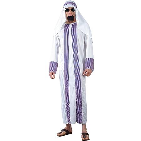 Saudi Arabischer Scheich Öl Baron Männer Verkleidung Halloween Kostüm One Size
