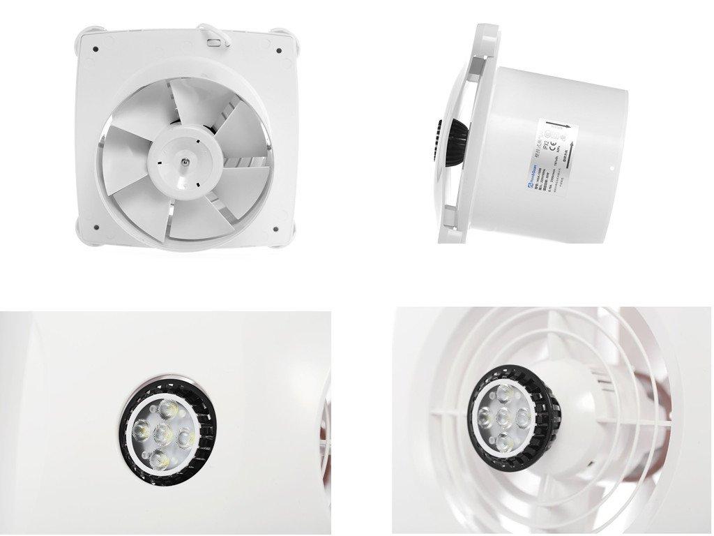 Extracteur D'Air Silencieux Salle De Bain ~ hon guan 150mm ventilateur silencieux extracteur d air pour salle de