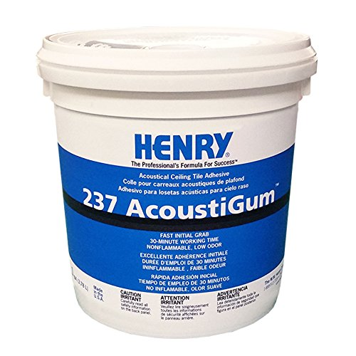 WW Henry 12016 #237 Acoustical Adhesive