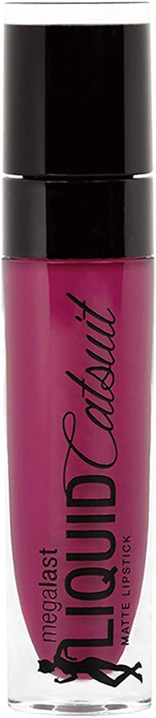 Wet 'n Wild Megalast Liquid Catsuit Matte Lipstick - Berry Recognize Lipsticks at amazon