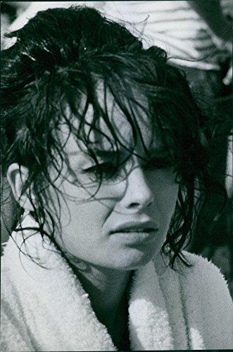 (Vintage photo of Portrait of Pascale Petit, 1969.)