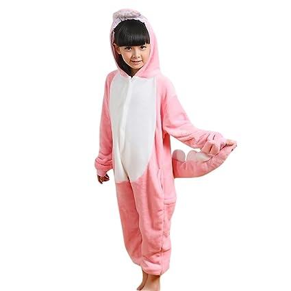 4d41797109451 JT-Amigo Pyjama Combinaison Animaux Costume Déguisement Cosplay Enfant  Fille Garçon