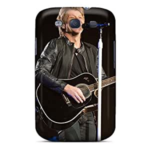 Protector Hard Cell-phone Cases For Samsung Galaxy S3 (pYY14034Zvku) Provide Private Custom Trendy Bon Jovi Band Pictures