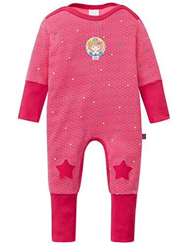 Schiesser Baby-Mädchen Zweiteiliger Schlafanzug Prinzessin Lillifee Anzug mit Vario, Rot (Pink 504), 86 (Herstellergröße: 086)