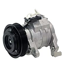 Denso 471-0398 New Compressor with Clutch