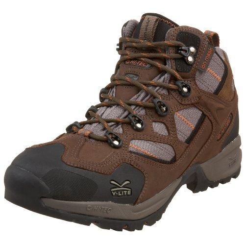 Hi-tec Hombres V-lite Mt. Nevis Wpi Light Shoe Shoe Chocolate / Taupe / Bombay