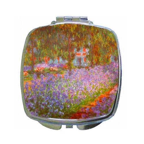 (Monet'S Garden By Claude Monet Compact Mirror )