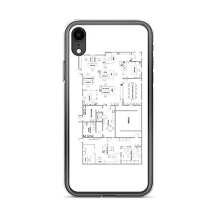 los angeles aa7d3 1fdde Amazon.com: iPhone XR Pure Clear Case Cases Cover The Office ...
