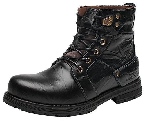 CFP , Herren Combat Boots Schwarz