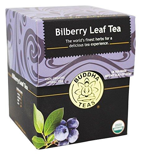 Organic Bilberry Leaf Tea Caffeine Free