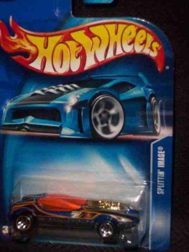 #2003-210 Splittin' Image Asian Language Sticker Collectible Collector Car Mattel Hot Wheels (Cars Wheels Stickers Hot)