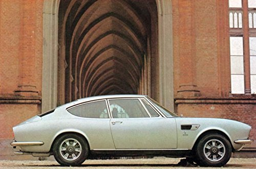 1971 Fiat Dino Coupe 2400 Factory Photo from AutoLit
