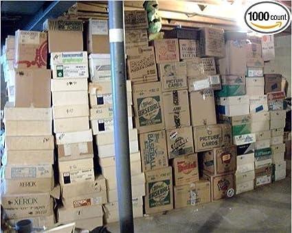 Baseball Card Estate Huge 3 Million Card Store Dealer Inventory Sale Box Lot 100