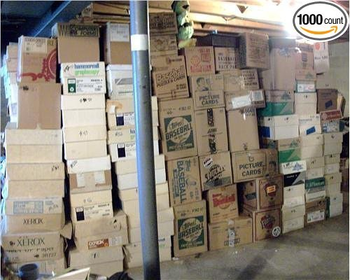 BASEBALL CARD ESTATE~ HUGE 3 MILLION CARD STORE DEALER INVENTORY SALE BOX LOT (100+)