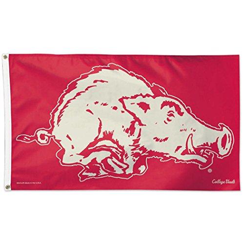 WinCraft University of Arkansas Throwback Vintage 3×5 College Flag