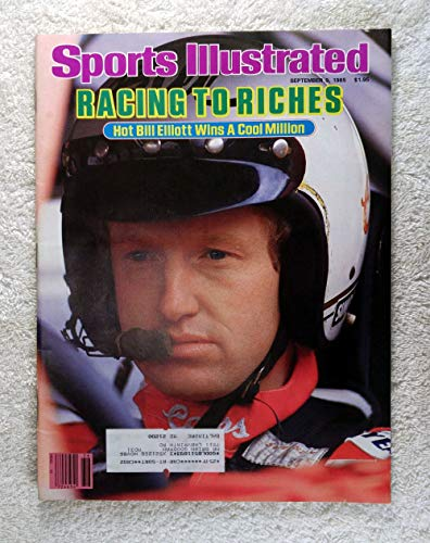 Racing to Riches - Bill Elliott wins the Winston Cup Million - NASCAR - Sports Illustrated - September 9, 1985 - Auto Racing - SI