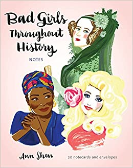 bad girls throughout history notes 20 notecards and envelopes