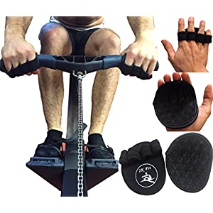 Rowing Machine Gloves made by 2K Fit with Good Grip ideal for Rowing, Weightlifting, CrossFit and Gym Exercising