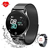 Smart Watch for Android iOS Phone, WELTEAYO Activity Fitness Tracker Watches Smartwatch with IP67Waterproof Notification SMS Heart Rate, Sleep Monitor Compatible for Men Women